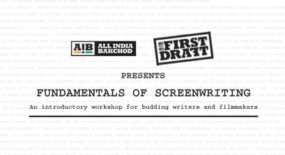 AIB First Draft: Fundamentals of Screenwriting