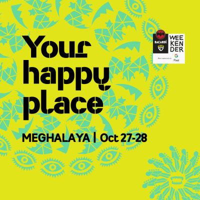 Get your artwork to Bacardi NH7 Weekender Meghalaya!