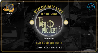 The Iyer Project - Thursday Live!
