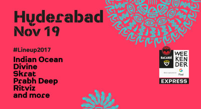Bacardi NH7 Weekender Express, Hyderabad