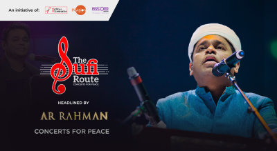 The Sufi Route – Concerts For Peace ft AR Rahman