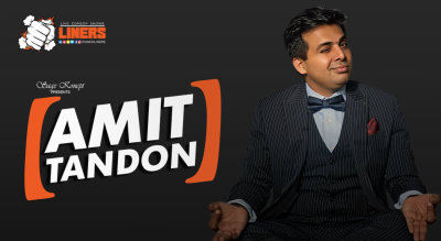 Punchliners: Stand Up Comedy Show feat. Amit Tandon in Mumbai