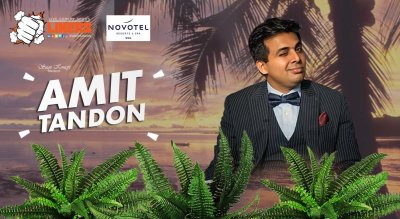 Punchliners: Stand Up Comedy Show feat. Amit Tandon at Novotel Goa Shrem
