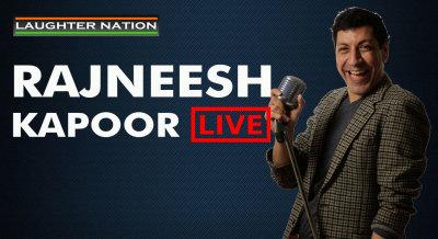 Rajneesh Kapoor Live