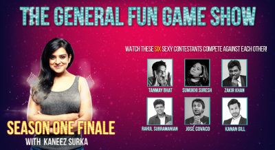 The General Fun Gameshow - Finale with Kaneez ft. Tanmay, Zakir, Kanan, Sumukhi, Rahul and José Covaco