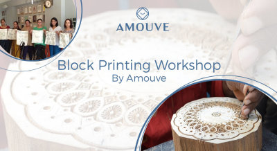 Block Printing Workshop by Amouve