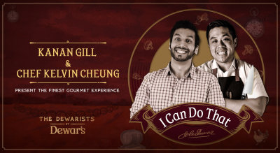 I Can Do That ft Kanan Gill and Chef Kelvin Cheung