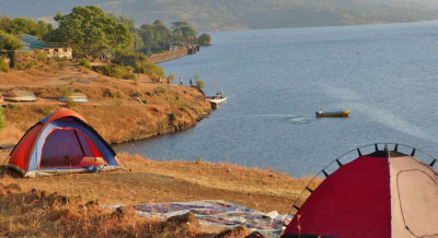 Camping at Bhandardara with Looneytunes Adventure