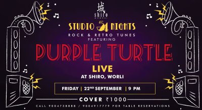 Studio54 live ft. Purple Turtle at Shiro