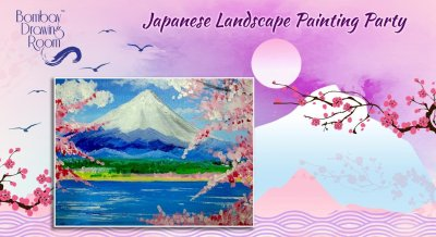 Japanese Landscape Painting Party