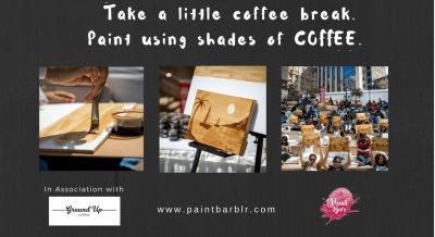 Paint With Coffee - Paint Bar