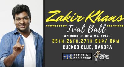 Trial Ball with Zakir Khan