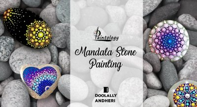 Mandala Stone painting by Paintology