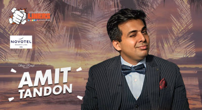 Punchliners: Stand Up Comedy Show feat. Amit Tandon at Novotel Goa