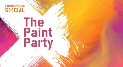 The Paint Party at #FunRepublicSocial