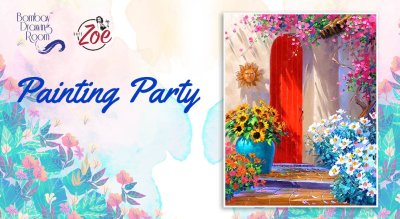 Painting Party at Cafe Zoe