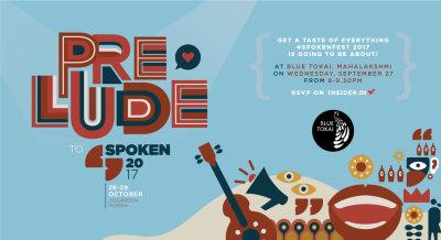 Prelude to Spoken #1 Storytelling at Blue Tokai