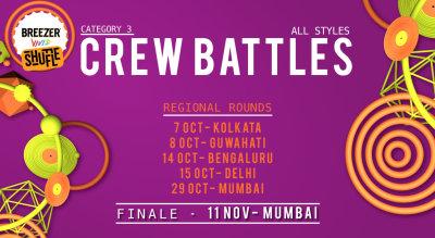 Breezer Vivid Shuffle: Crew Battles