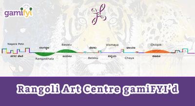 Rangoli Art Centre GamiFYI'd