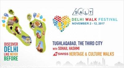 Delhi Walk Festival - Tughlaqabad, The Third City