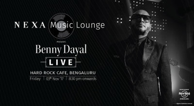 Nexa Music Lounge Presents Benny Dayal Live!