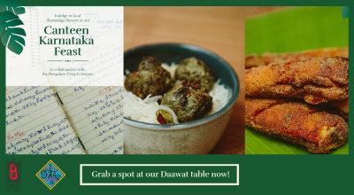 Sneak Peek to the Canteen Karnataka Feast