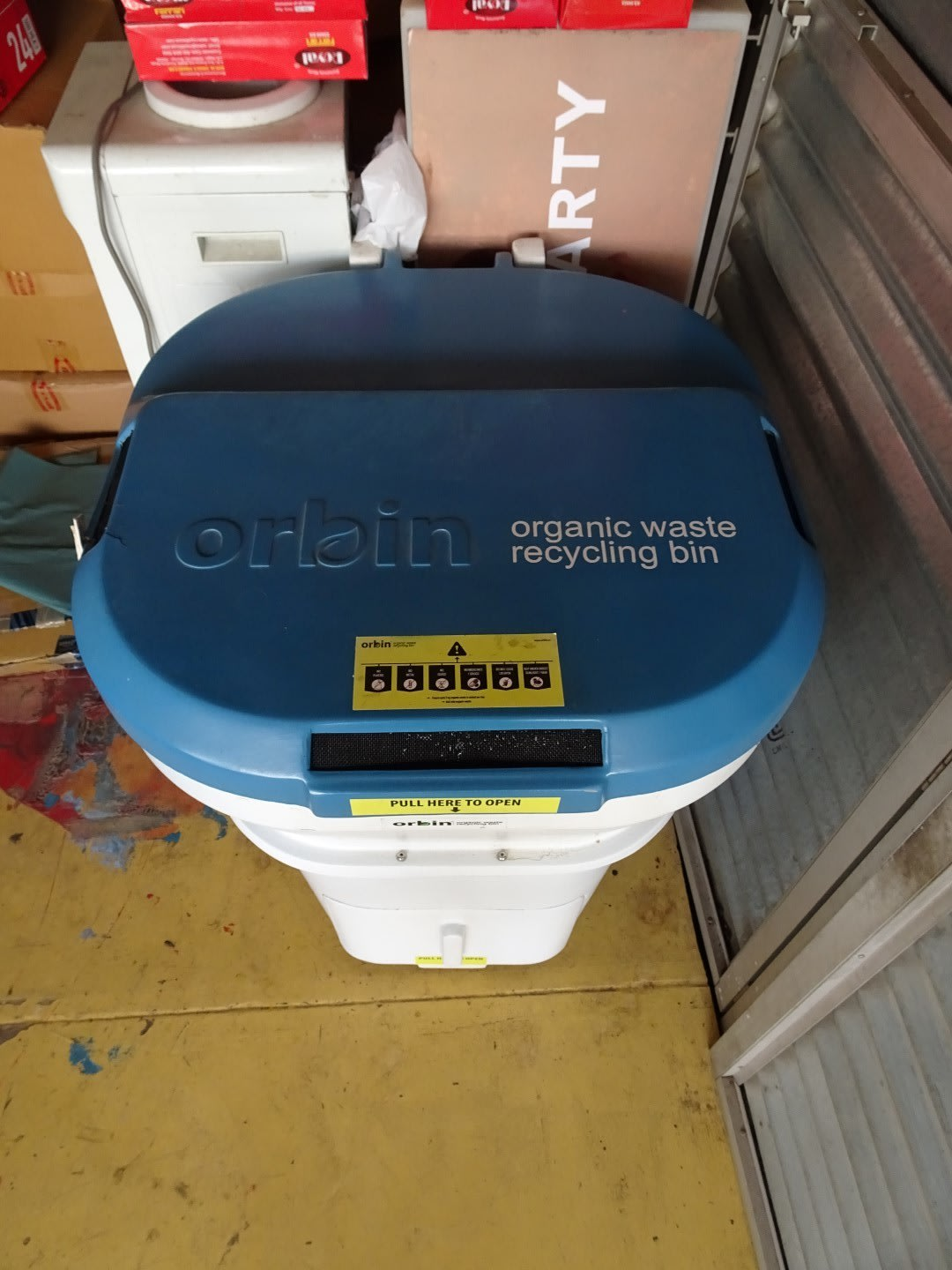 The Insider office composter - all our bad ideas go here