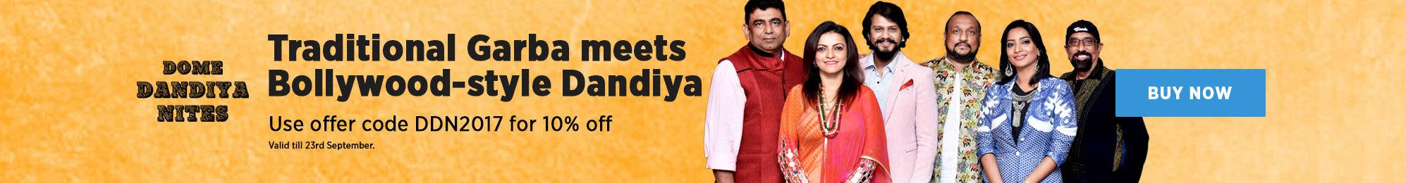 Traditional Garba meets Bollywood style Dandiya!