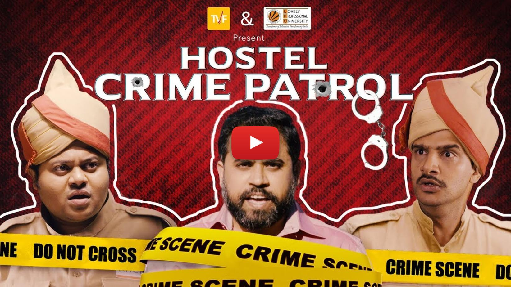 TVF - Hostel Crime Patrol - The Case Of Empty Plate