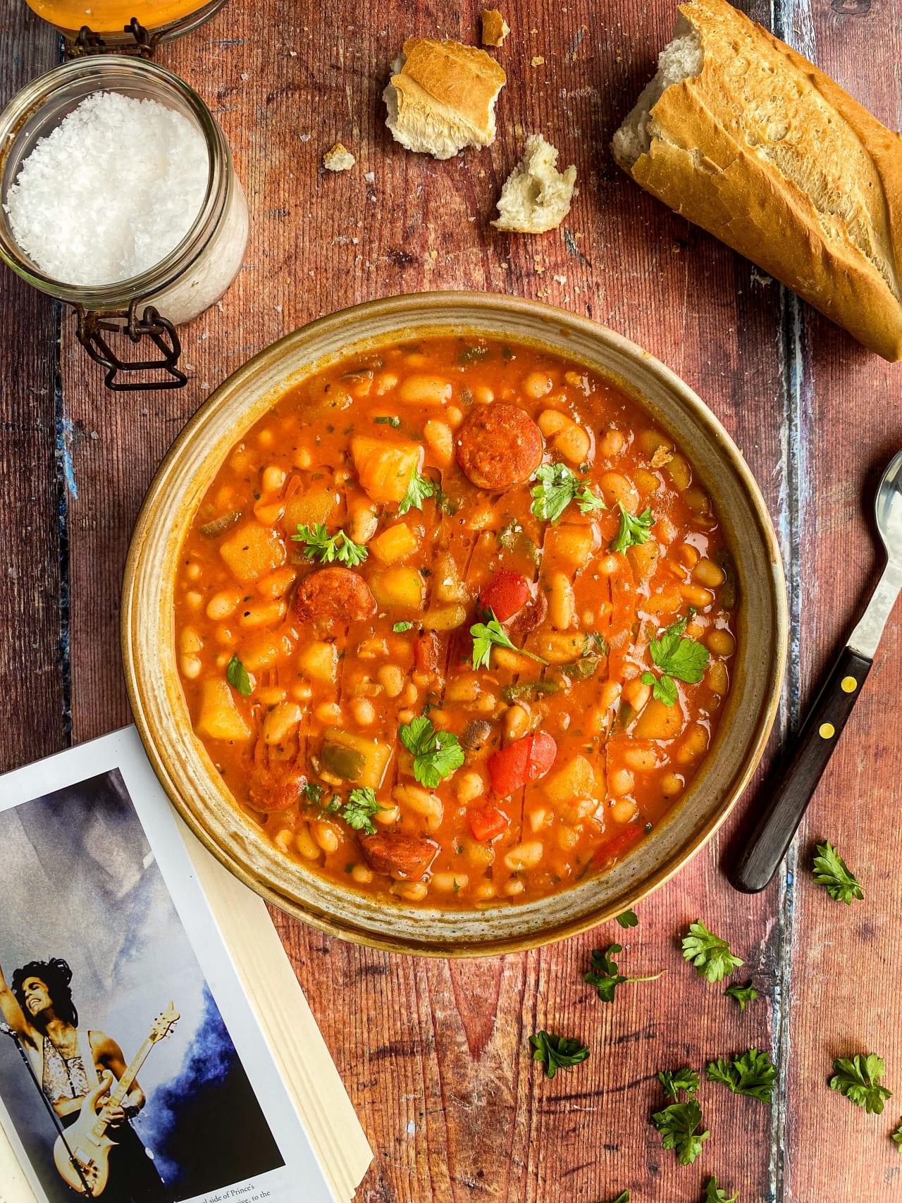 Cannellini Bean & Chorizo Stew