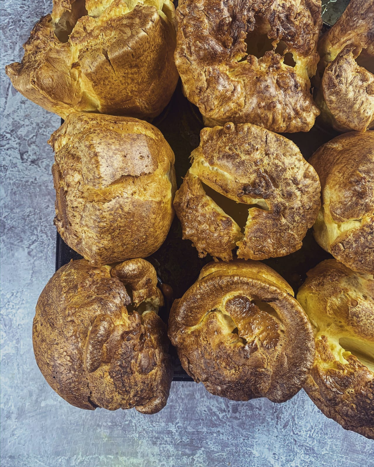 Sky high Yorkshire puddings