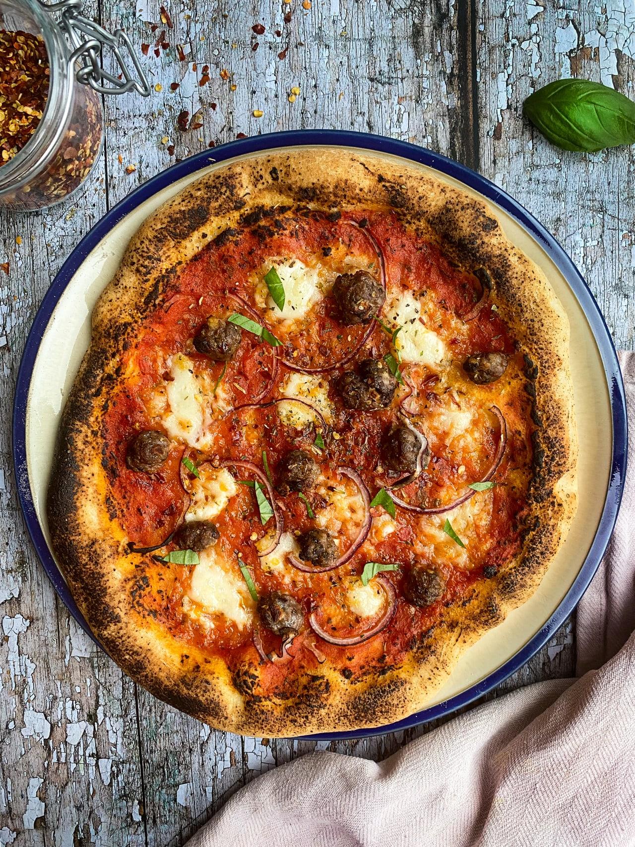 Homemade Neapolitan Style Pizza Dough