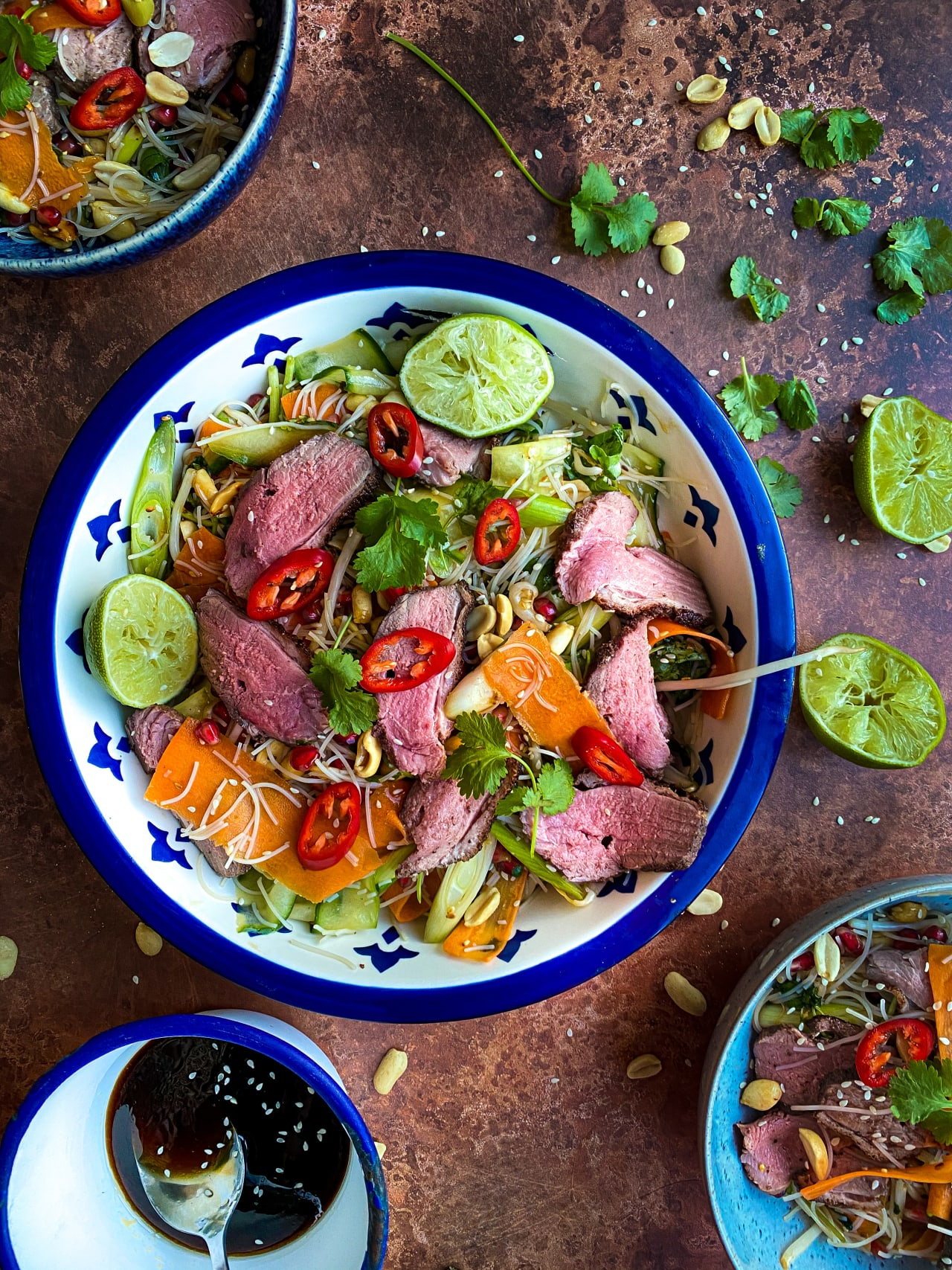 Asian Duck Breast Salad