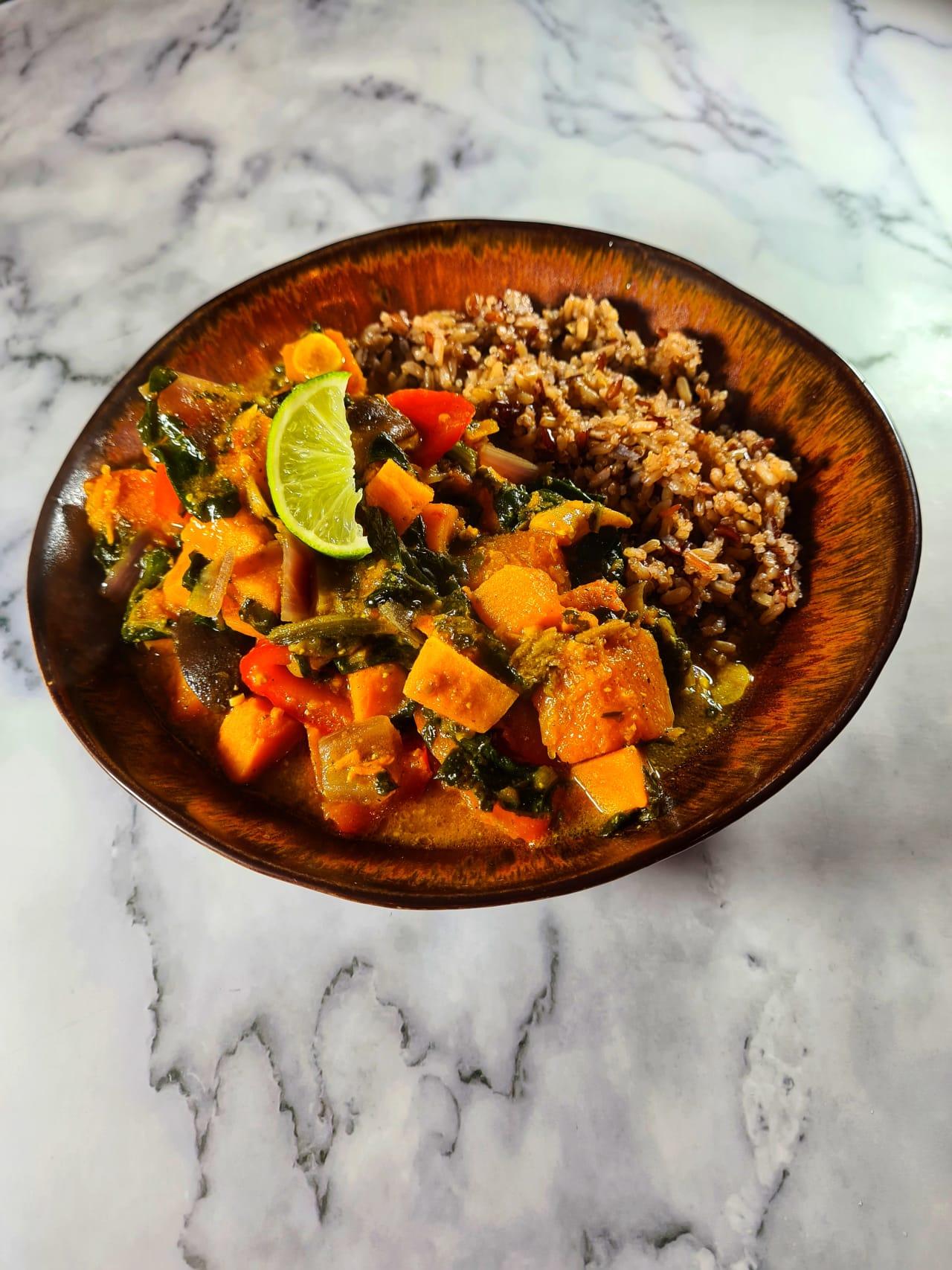 Vegan Sri-Lankan Curry