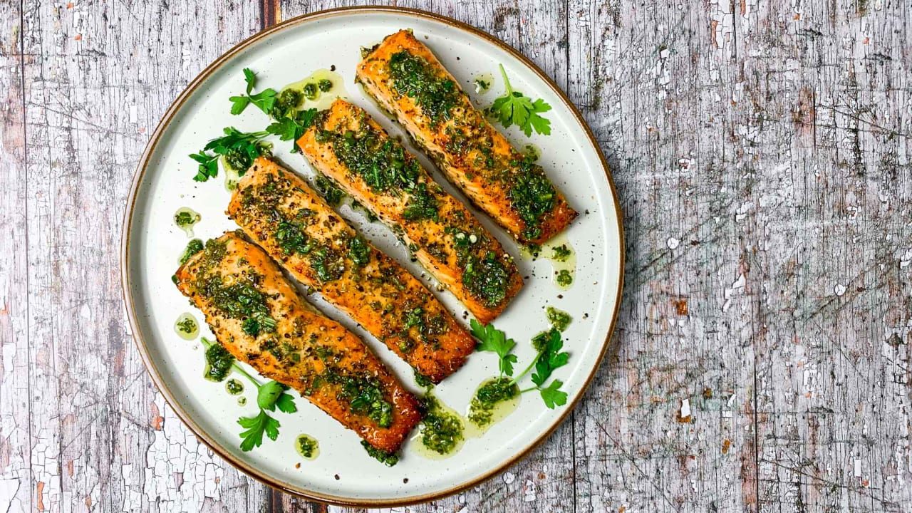 Herby Zingy Salmon