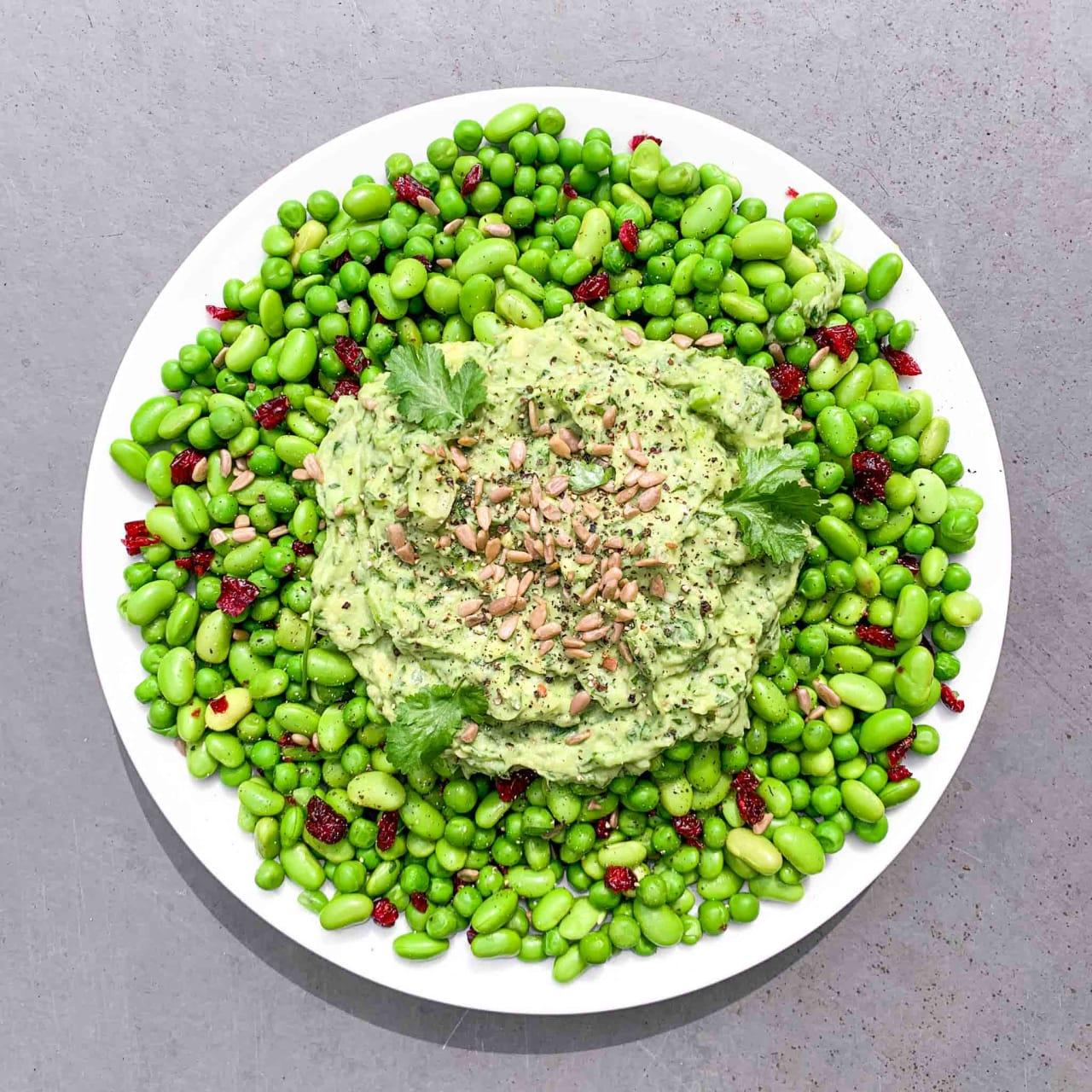 Pea & Edamame Salad