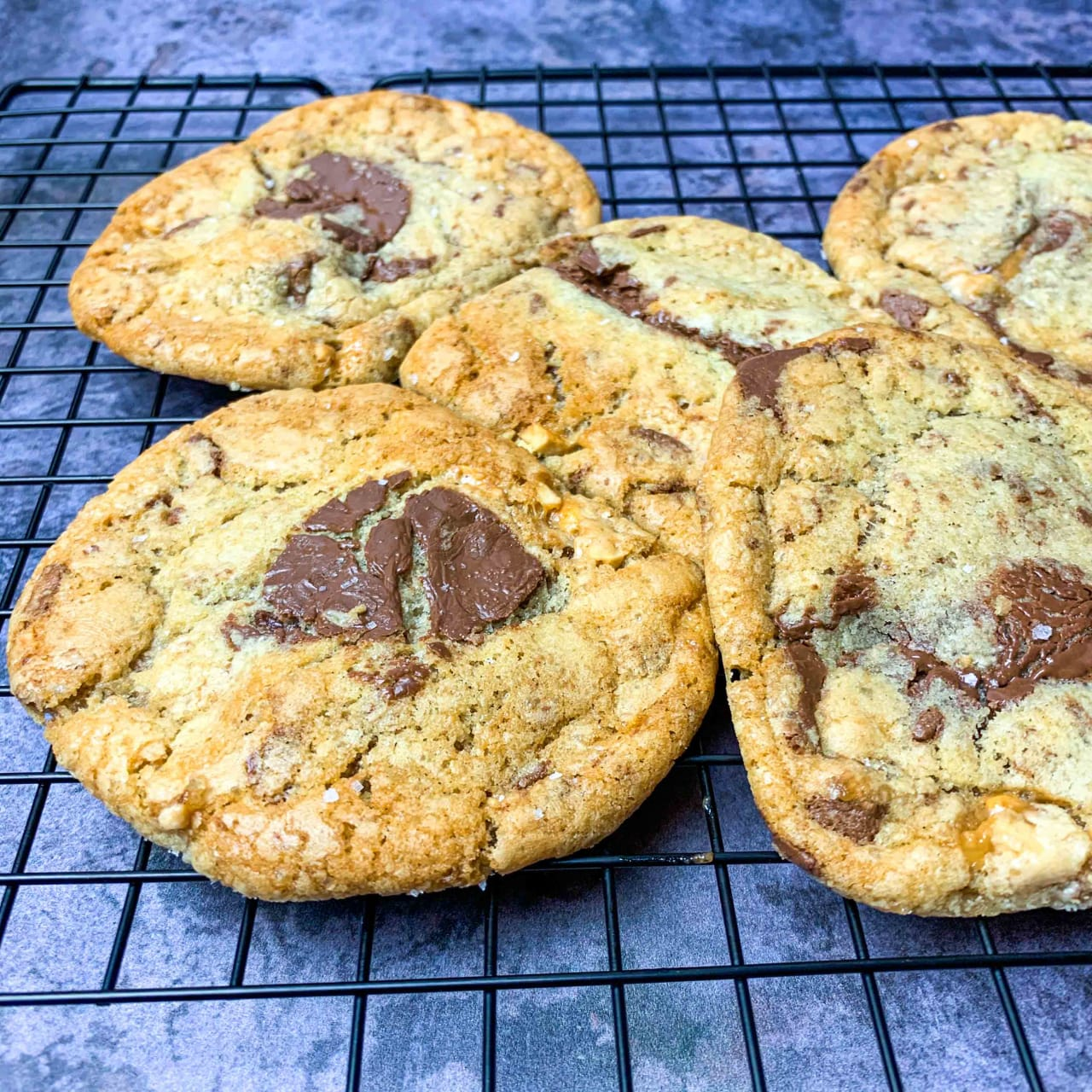 Snickers Chocolate Chip Cookies