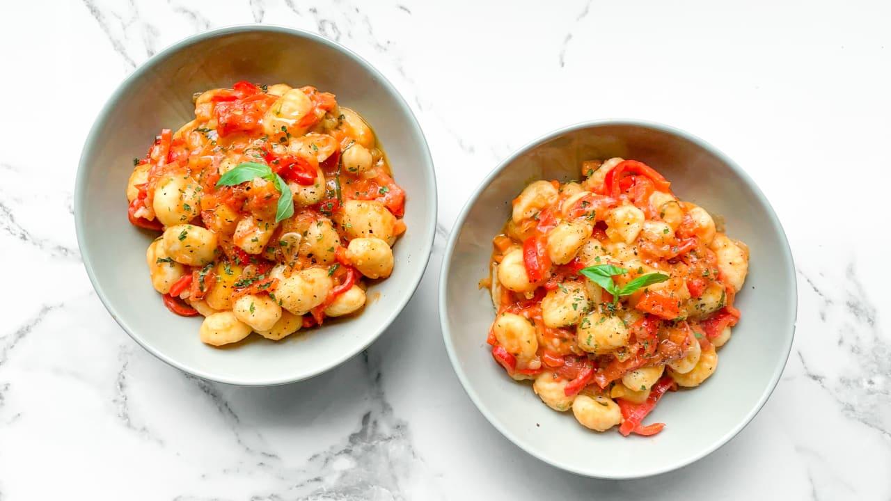 Tomato & Red Pepper Gnocchi