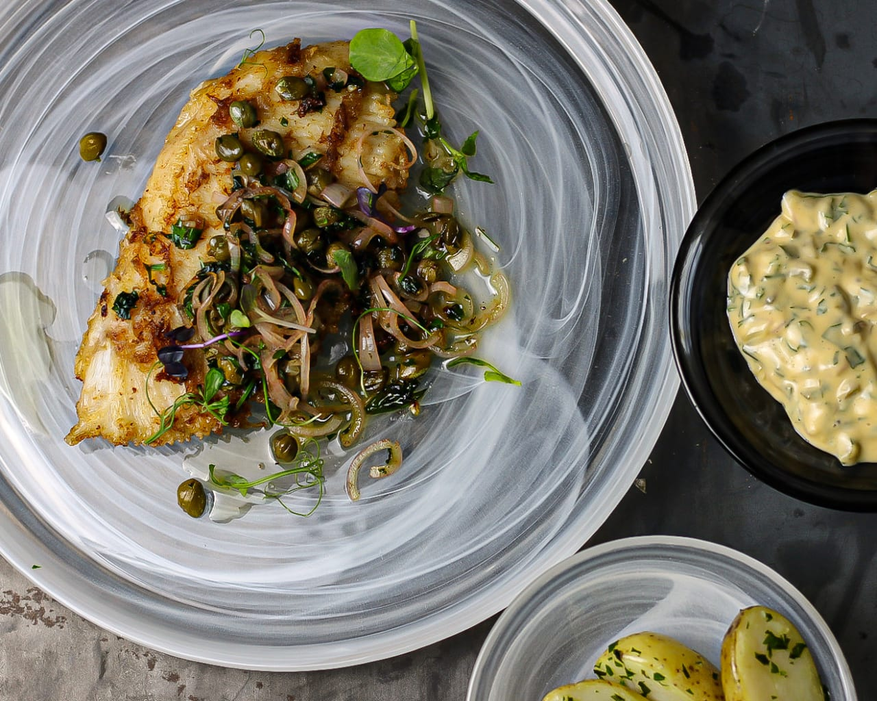 Ray Wing with Nut Brown Butter