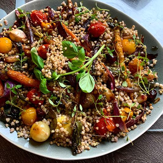 Za'atar Roasted Vegetables with Buckwheat