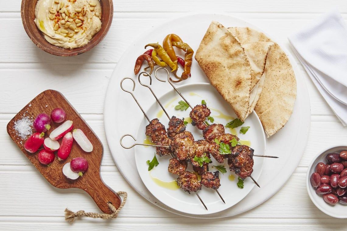 Middle eastern Chicken Skewers