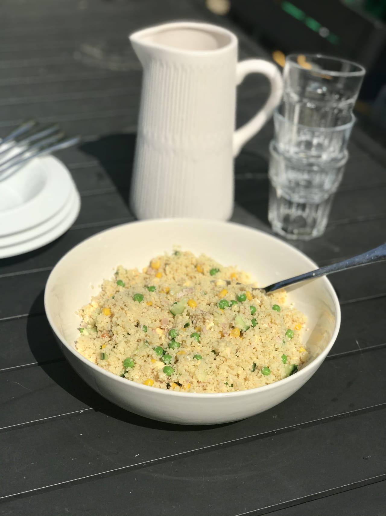 Simple Couscous Salad
