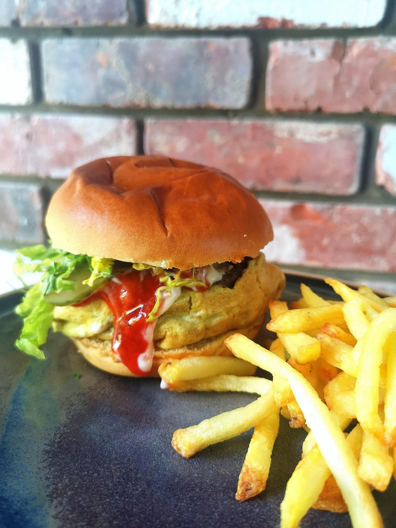 'Ramly' Style Burger