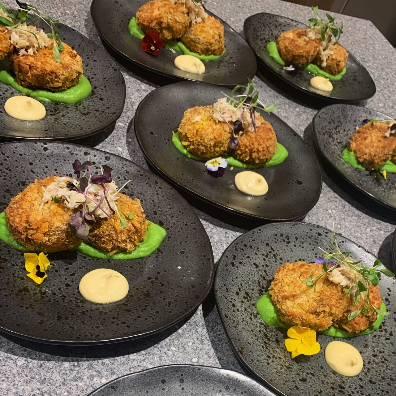 Spiced Crab Cakes