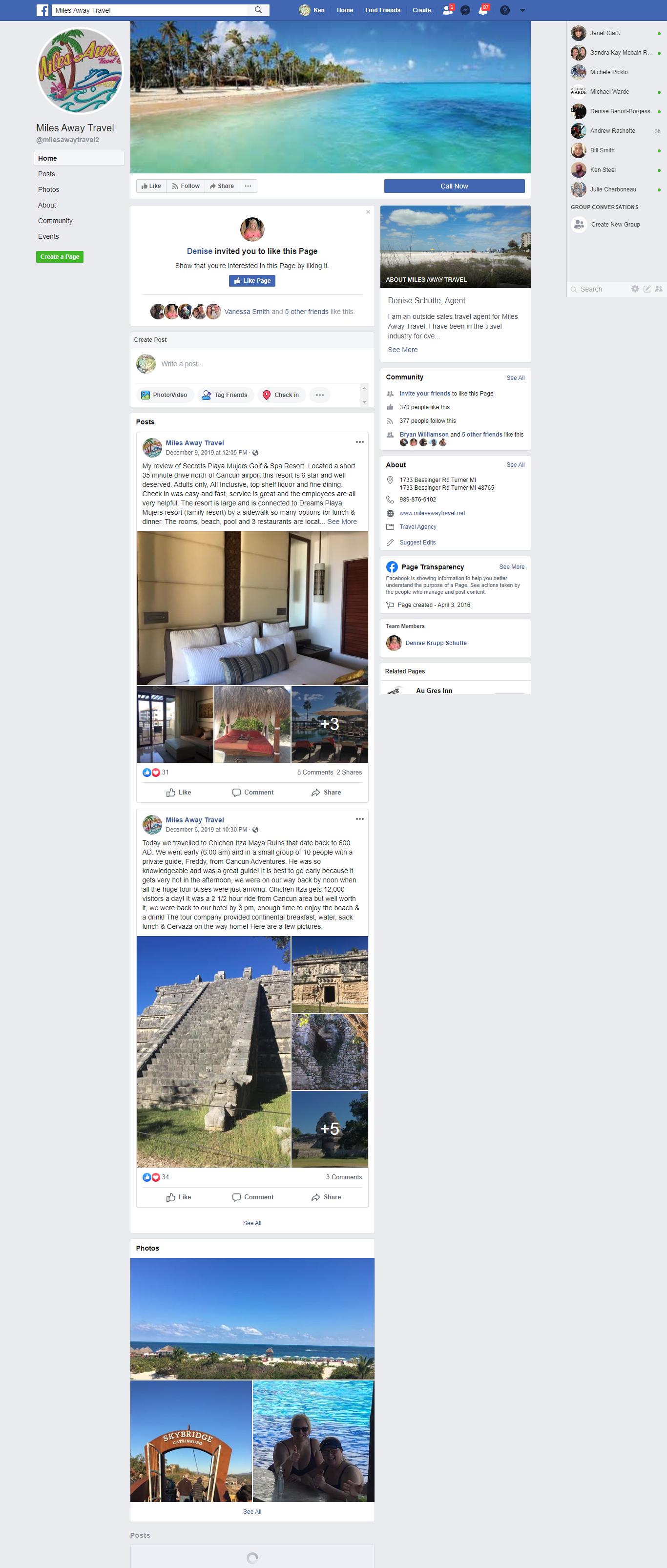 AuGres facebook
