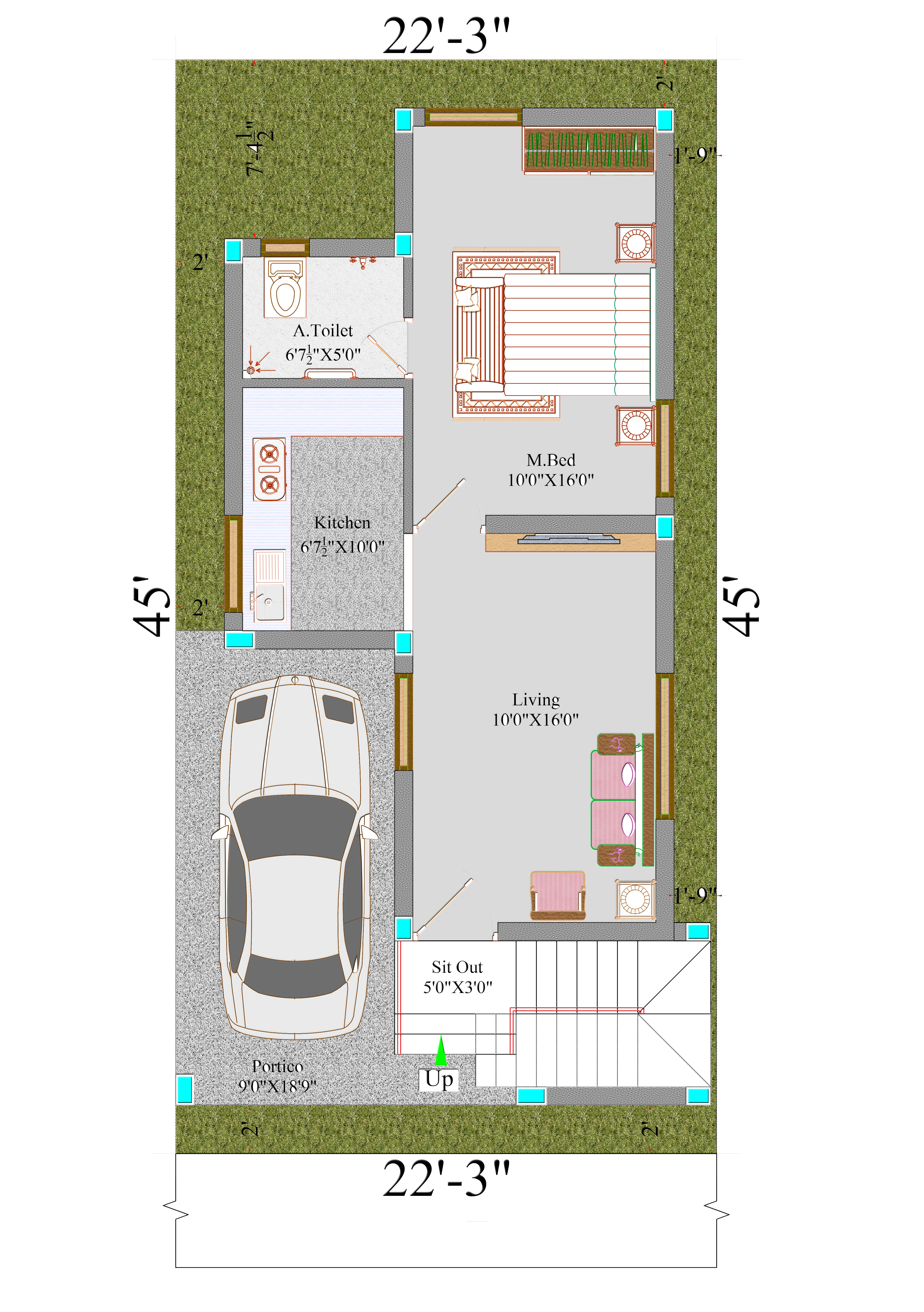superior villas floor plan