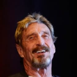 What is John McAfee's cryptocurrency net worth? It's not