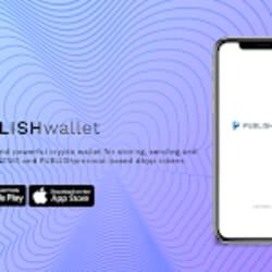 Blockchain media platform PUBLISH launches crypto wallet app