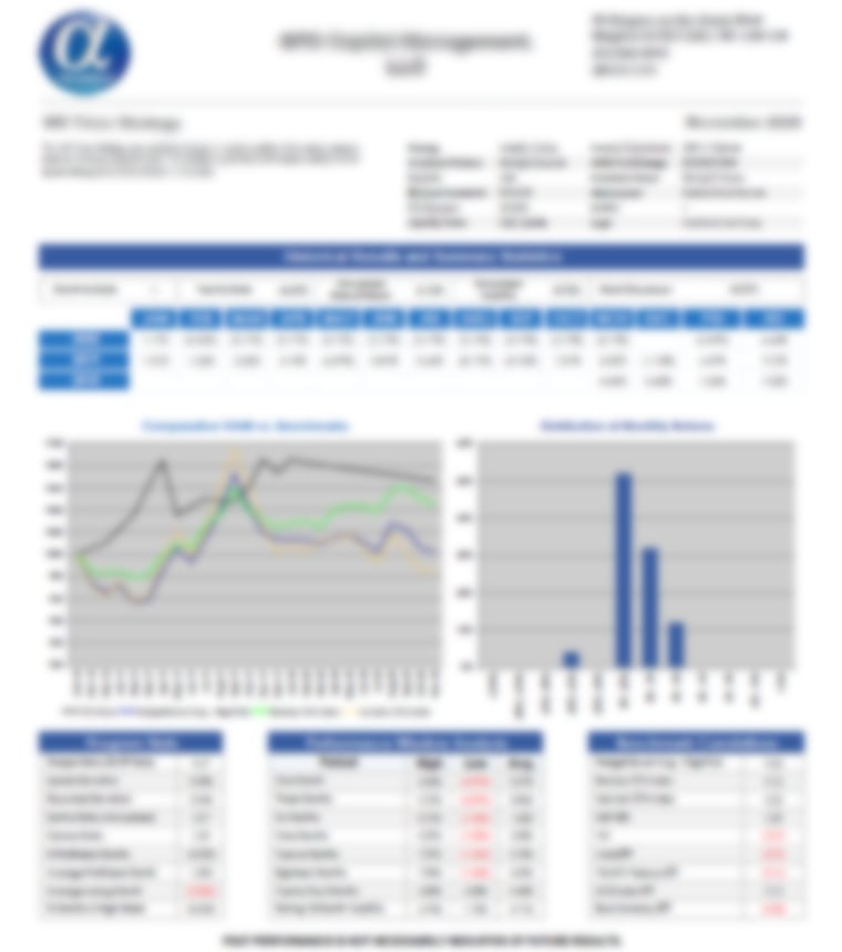 QTS Chimera Strategy - AlphaMaven Tear Sheet