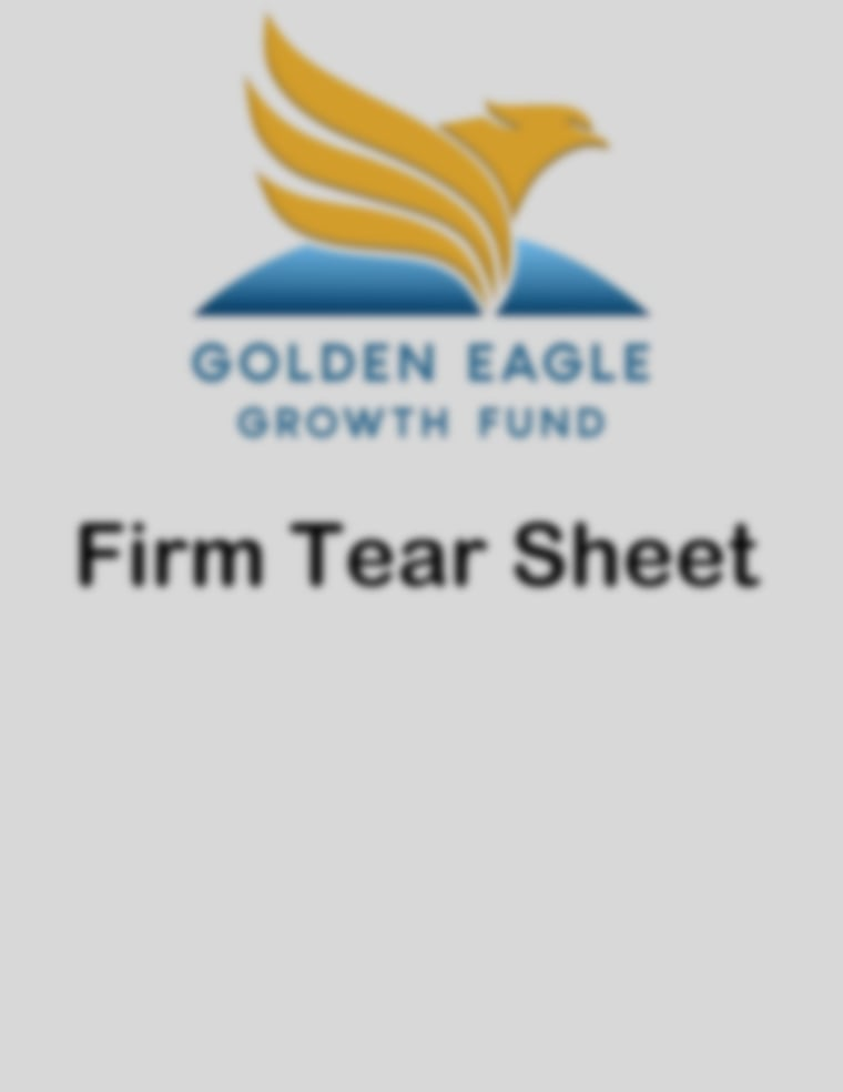 Golden Eagle Growth Fund - Firm Tear Sheet May 2021